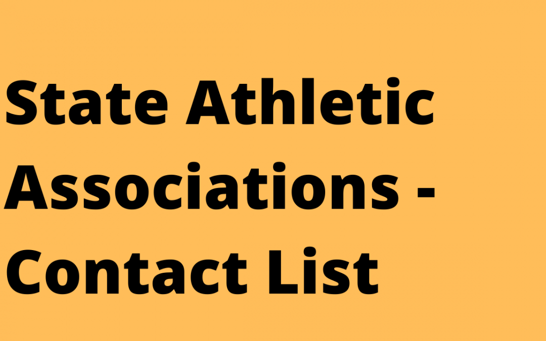 State Athletic Associations
